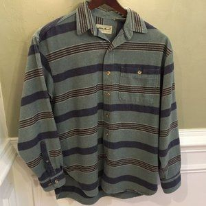 LL Bean Vintage Traditional Fit Flannel Shirt